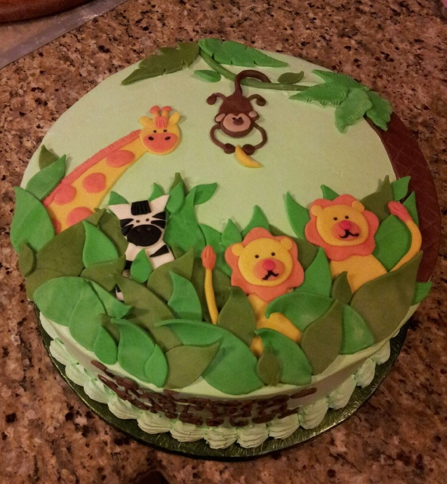 Safari Cake on Cake Central
