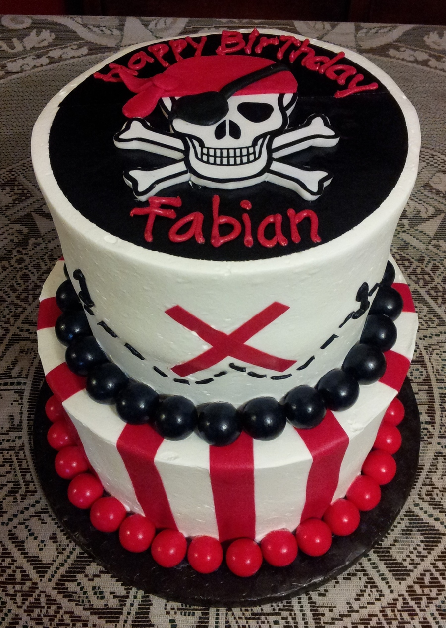 Pirate Themed Cake on Cake Central