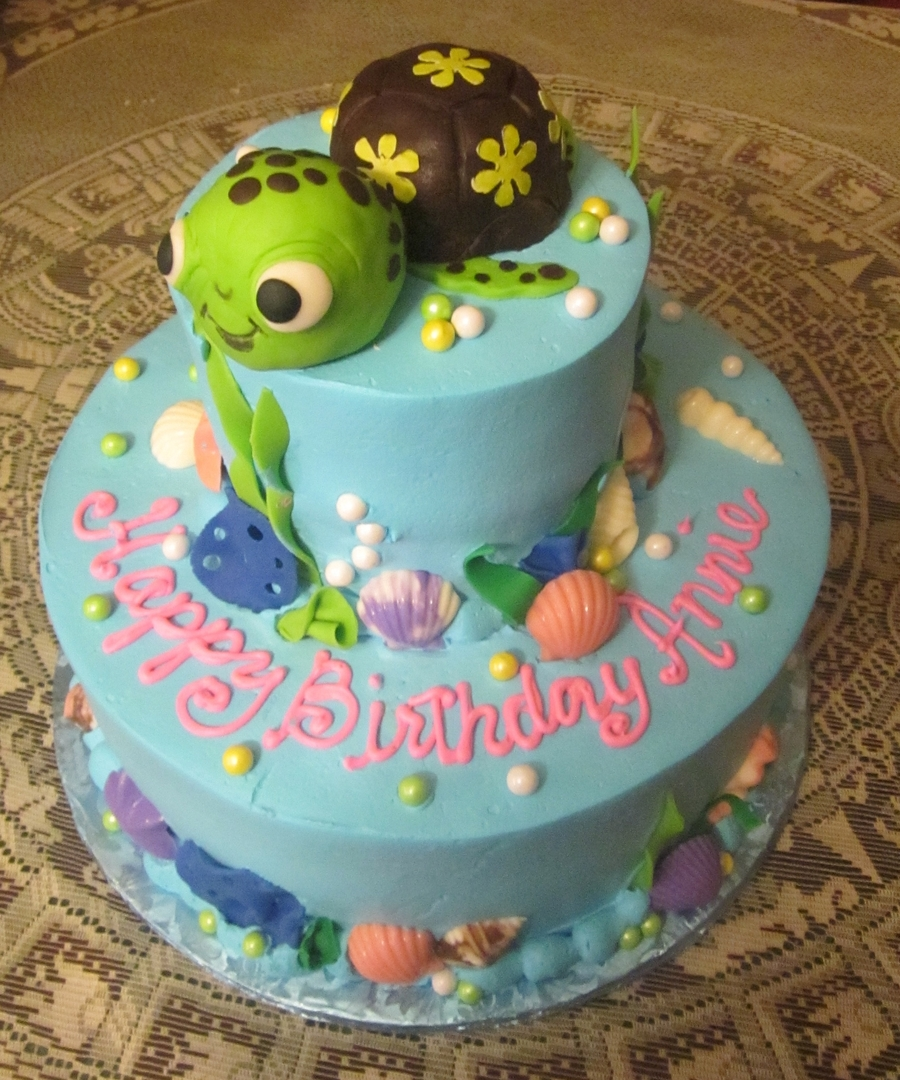 Squirt The Turtle  on Cake Central