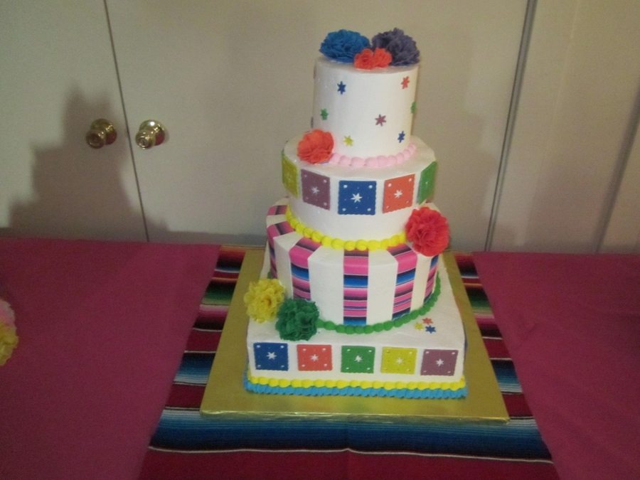 My 50Th Fiesta Birthday! on Cake Central
