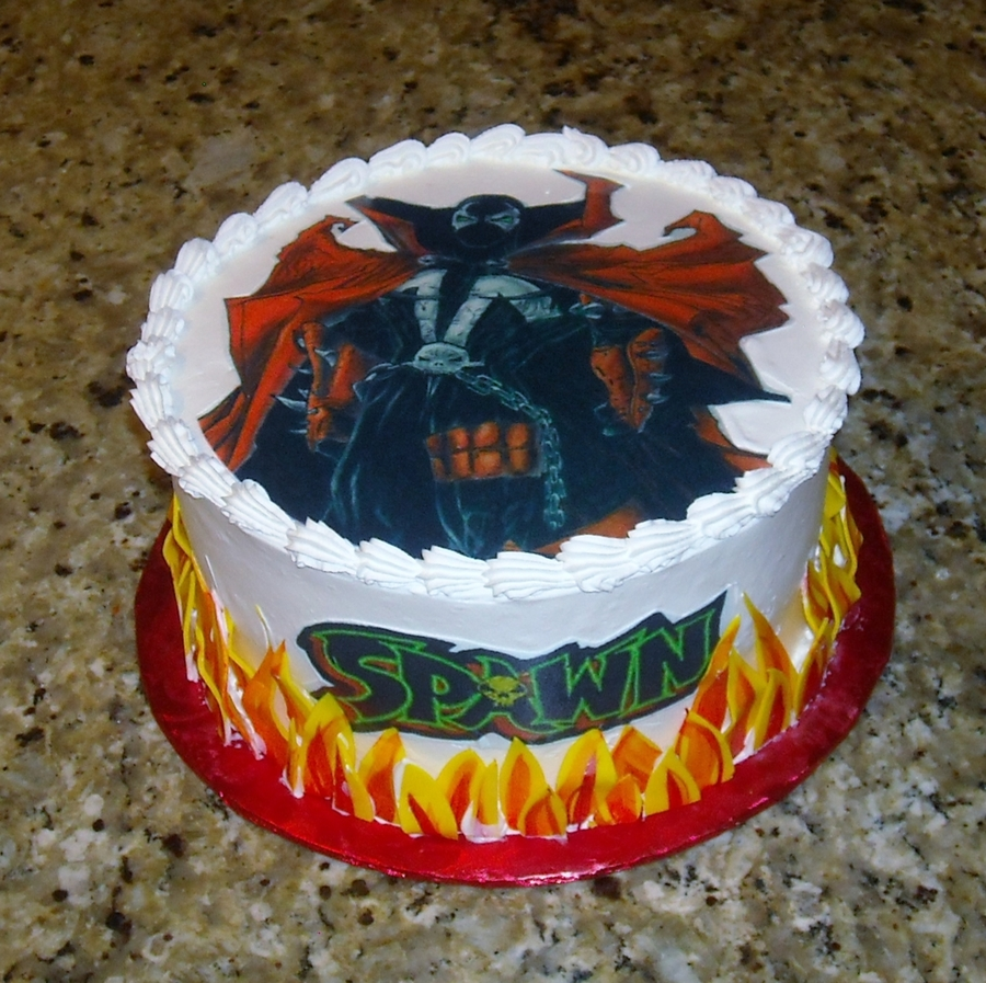Spawn on Cake Central