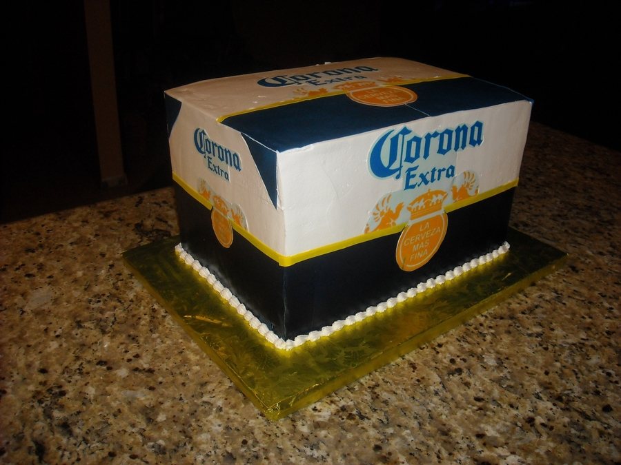 Case Of Corona Beer on Cake Central