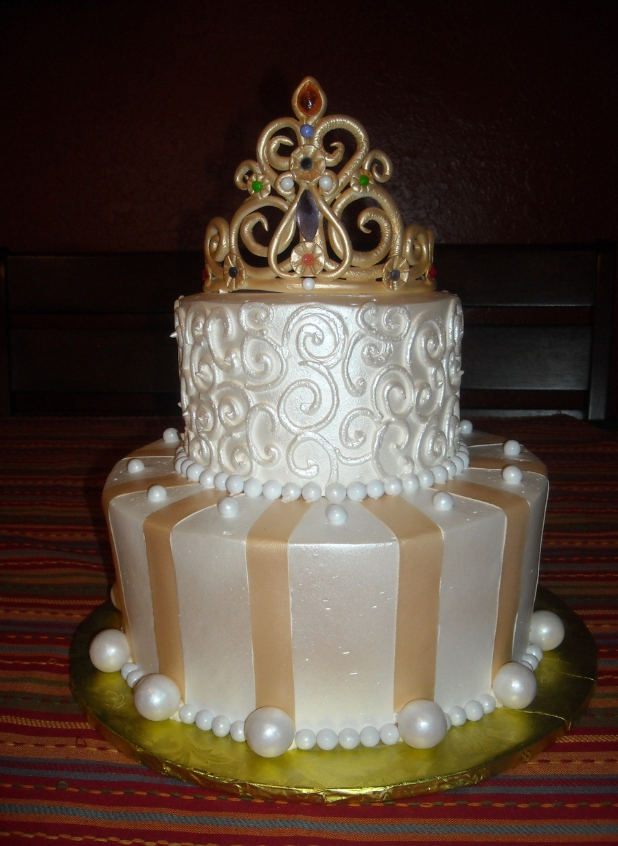 Golden Princess on Cake Central
