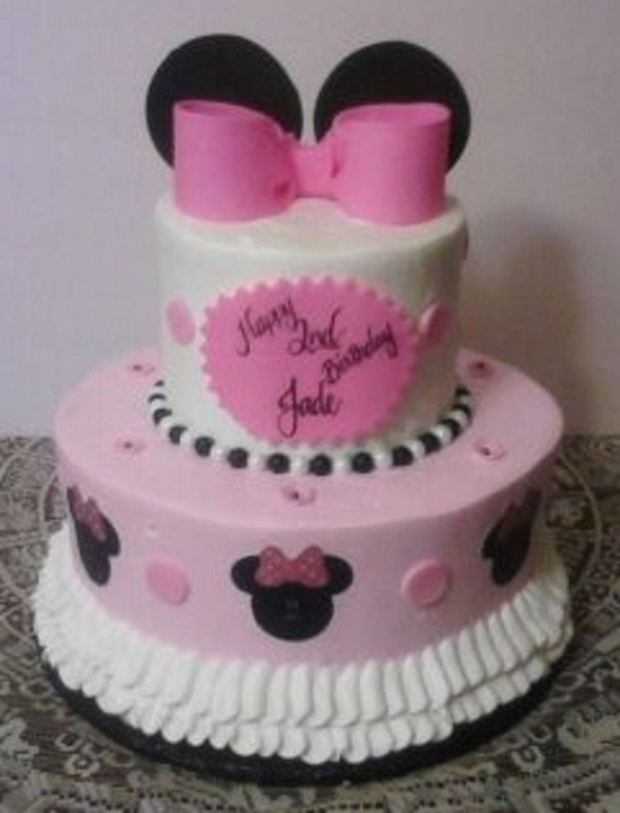 Minnie Mouse Theme on Cake Central