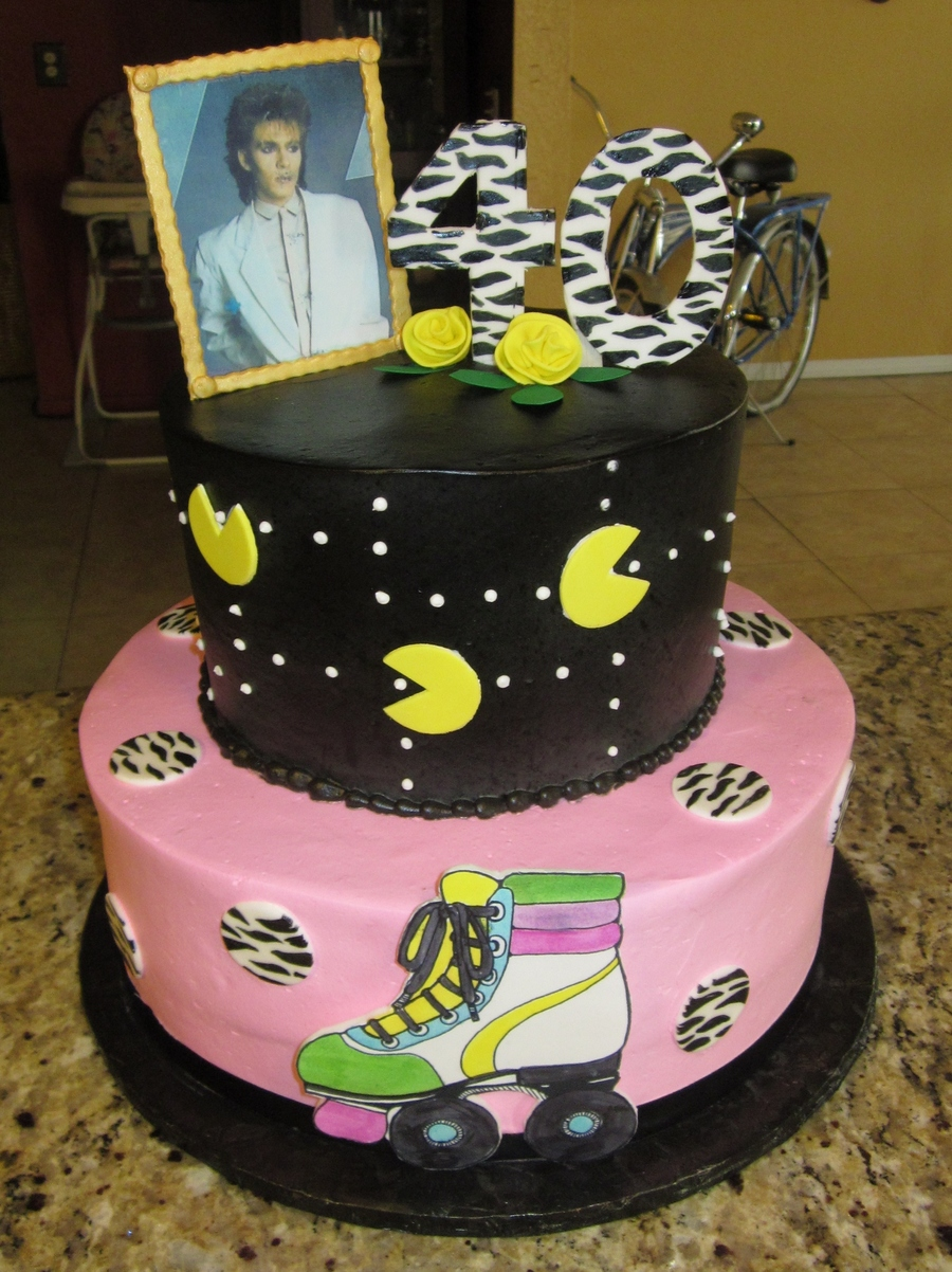 80s Themed Cake On Central
