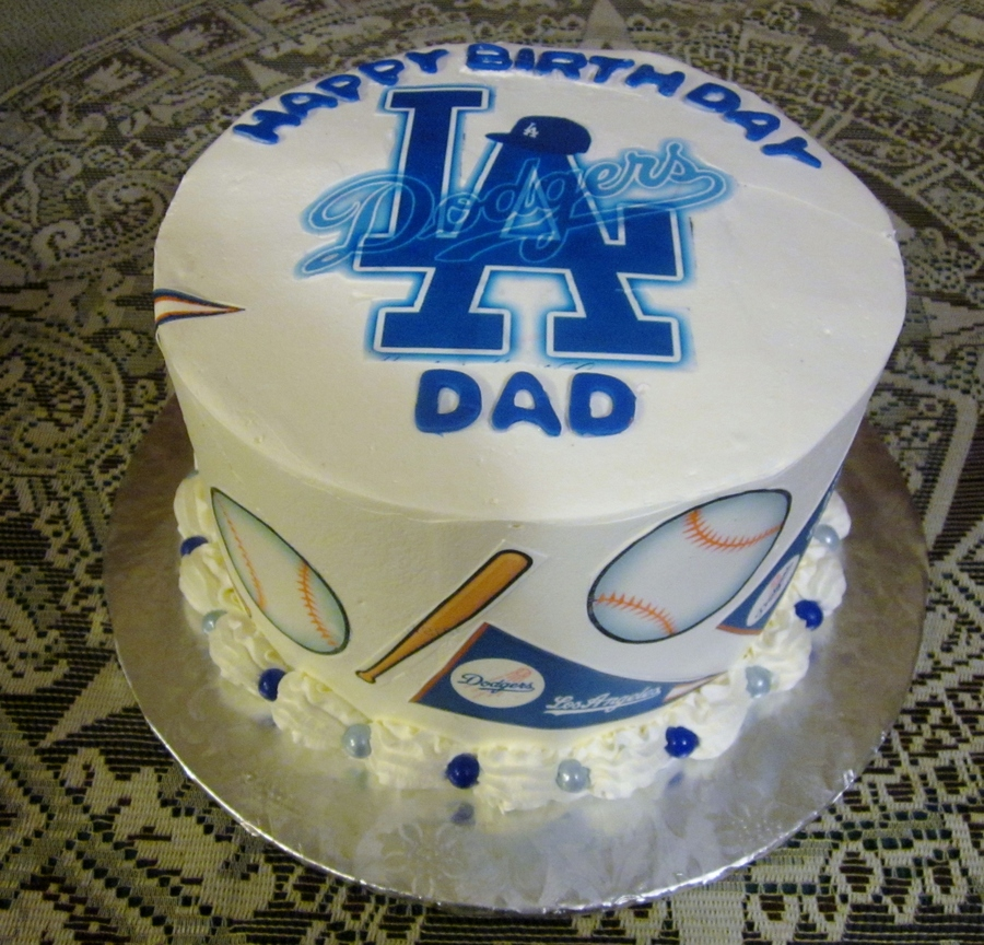 Dodger Dad! on Cake Central