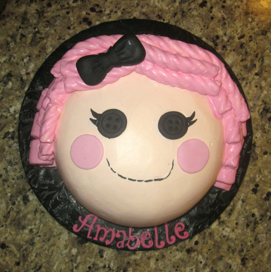 Lalaloopsy Doll on Cake Central