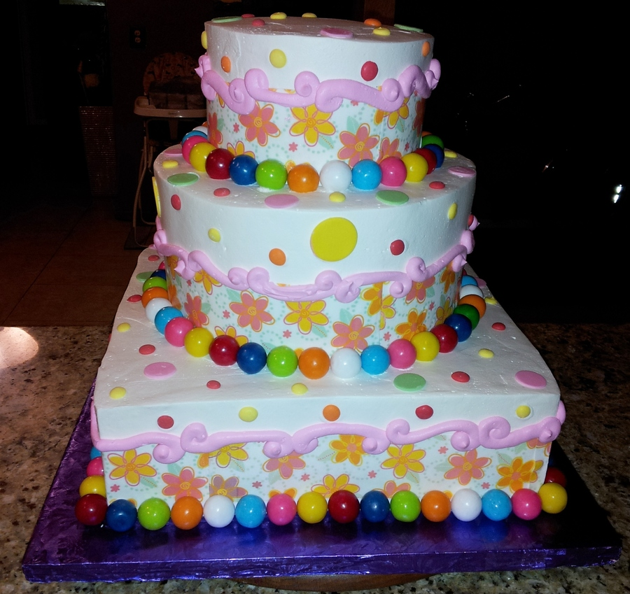 Fun Themed Quincenera Cake on Cake Central