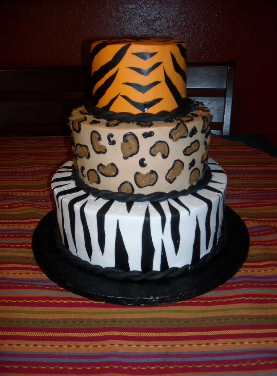Wild Animals! on Cake Central