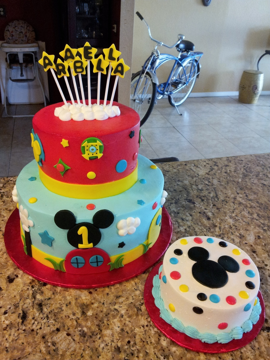 Mickey Mouse Clubhouse Birthday Cake Asda