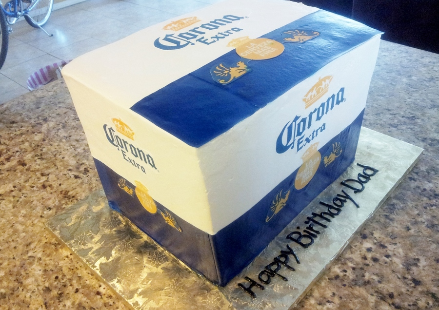 Corona Frosted Cakes