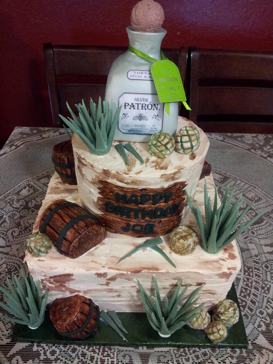Patron Tequila Cake Cakecentral Com