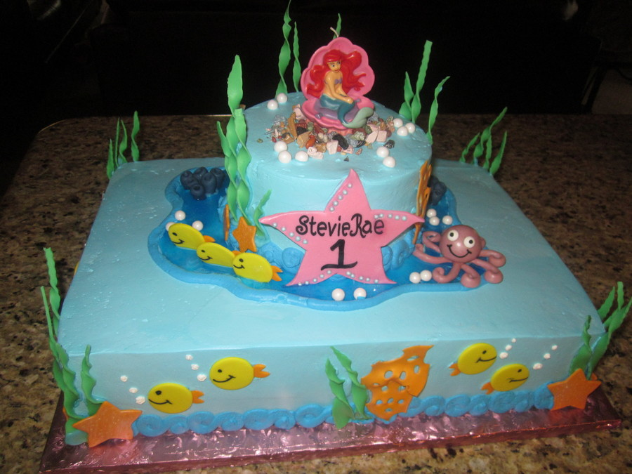 The Lttle Mermaid on Cake Central