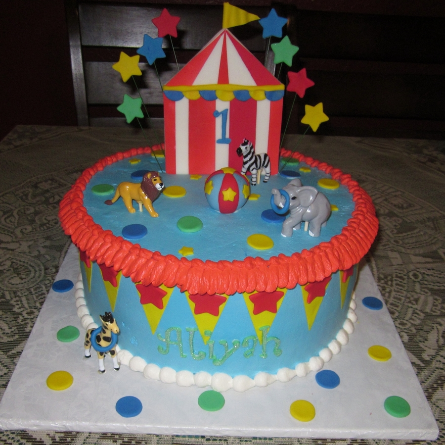 Circus! on Cake Central