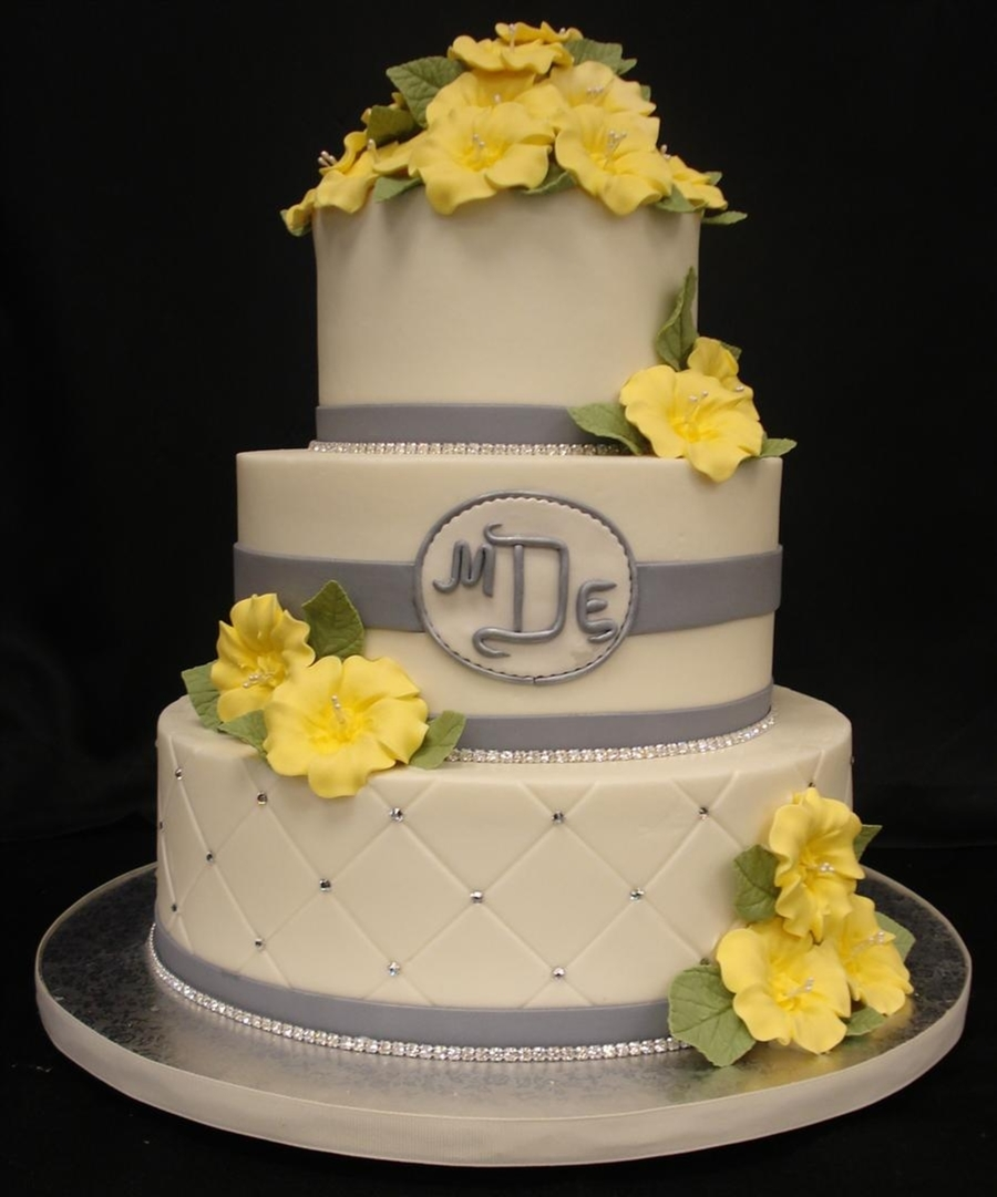 Buttercup Wedding on Cake Central