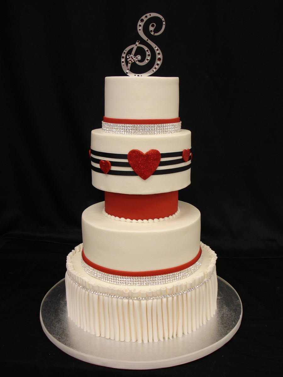 Valentine Wedding on Cake Central