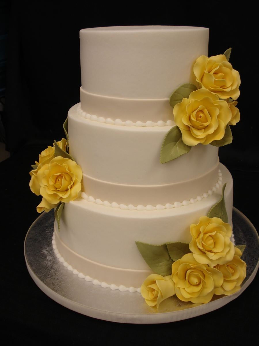 Simple And Sweet Yellow on Cake Central
