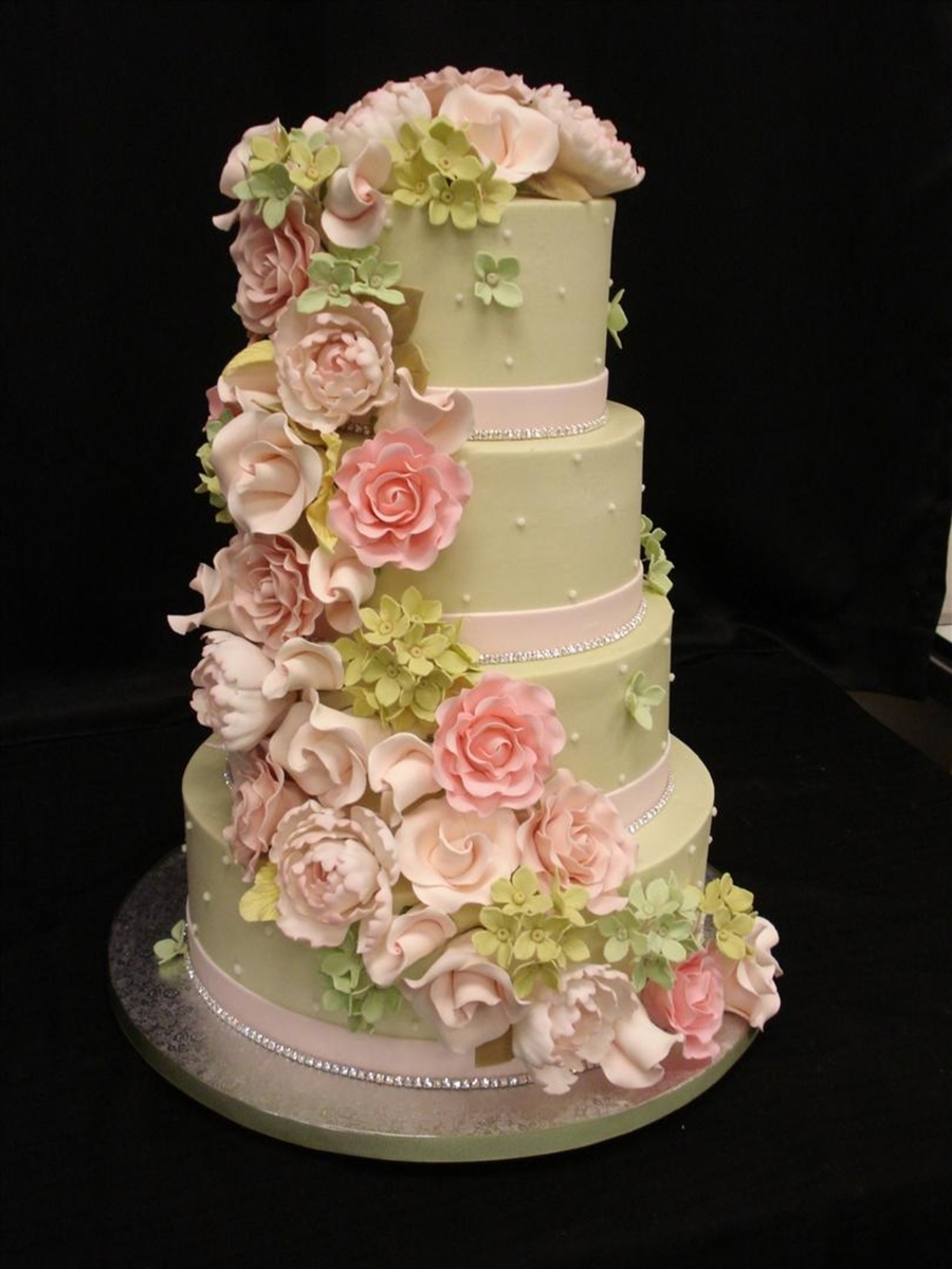 gumpaste sugar flowers for wedding cakes is here cakecentral 15025