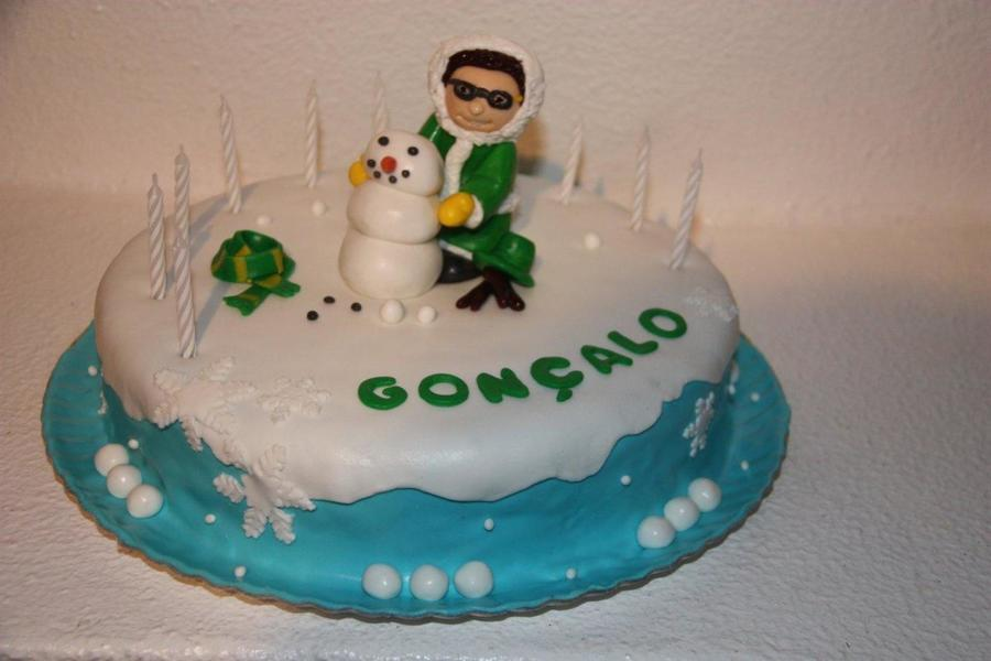 Making A Snowman on Cake Central