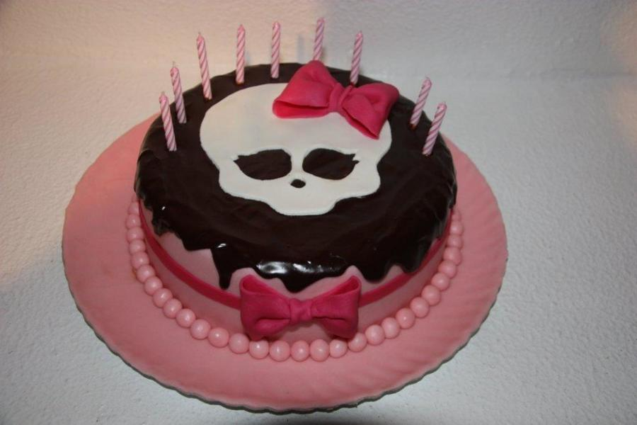 Monster High Cake Ii on Cake Central