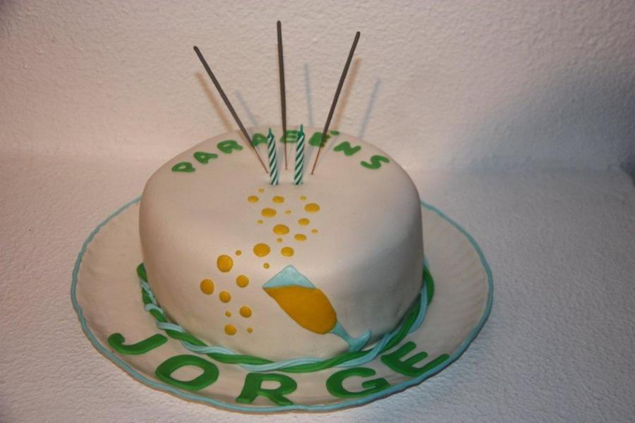 Jorge's Birthday Cake on Cake Central