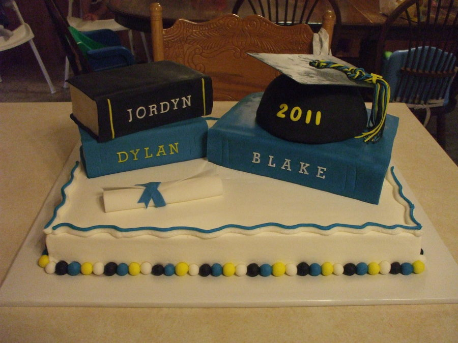 Graduation Books on Cake Central