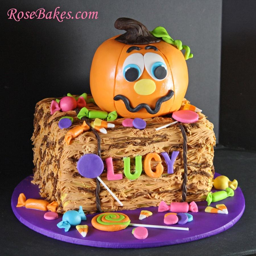 Pumpkin Patch Birthday Cake - CakeCentral.com