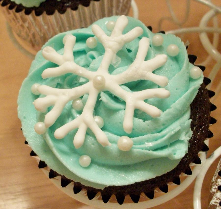 Winter Wonderland Cupcakes - CakeCentral.com