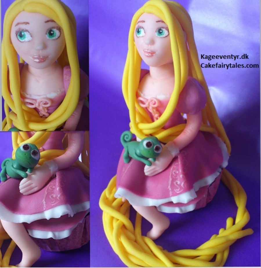 Tangled Cupcake on Cake Central