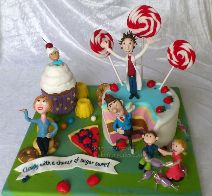 Cloudy With A Chance Of Meatballs on Cake Central