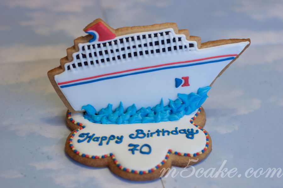 Carnival Cuise Ship Cookies Cakecentral Com