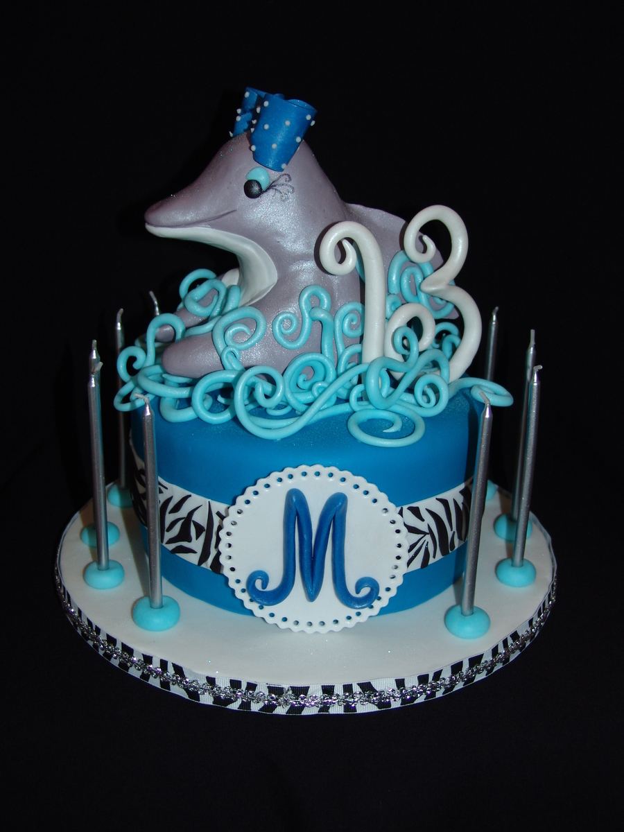 ~Dolphin~ Happy 13Th Birthday!!! on Cake Central