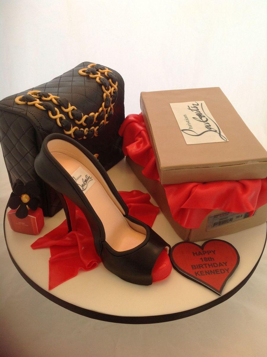 louboutin shoe shoe box classic chanel bag and marc jacobs