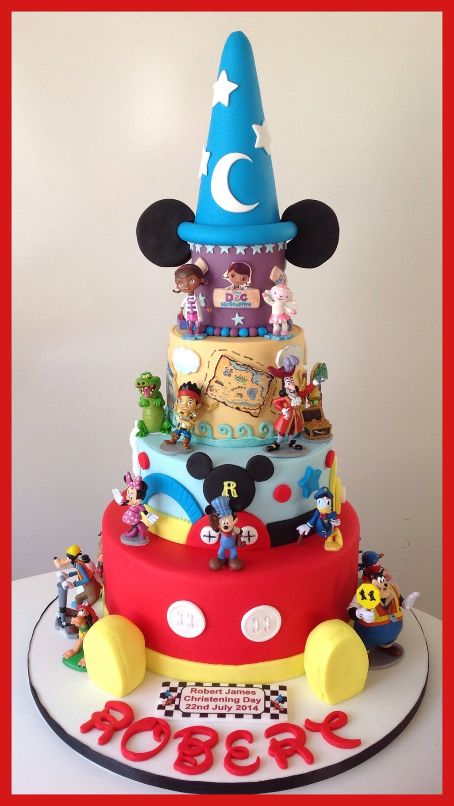 Disney Inspired Birthday Cakes
