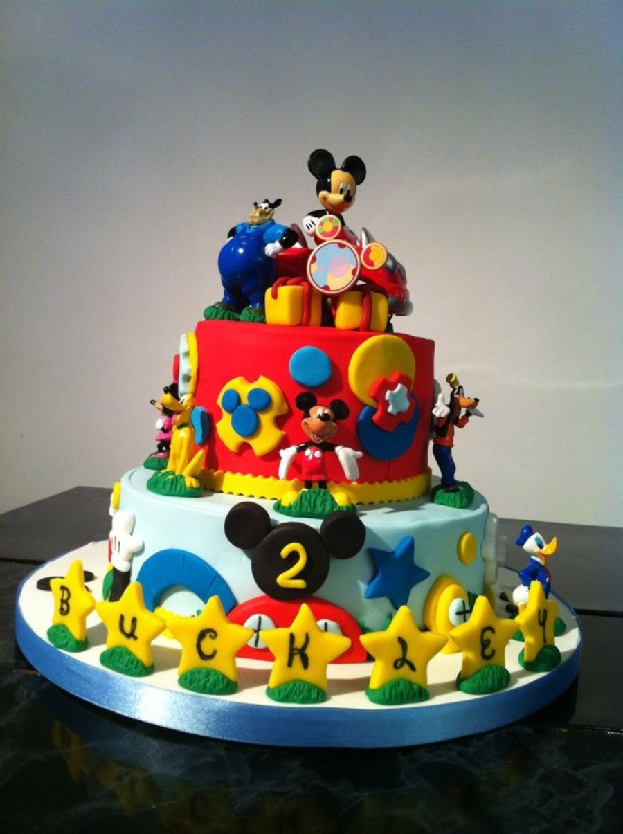 Mickey Mouse Club Cake Ideas