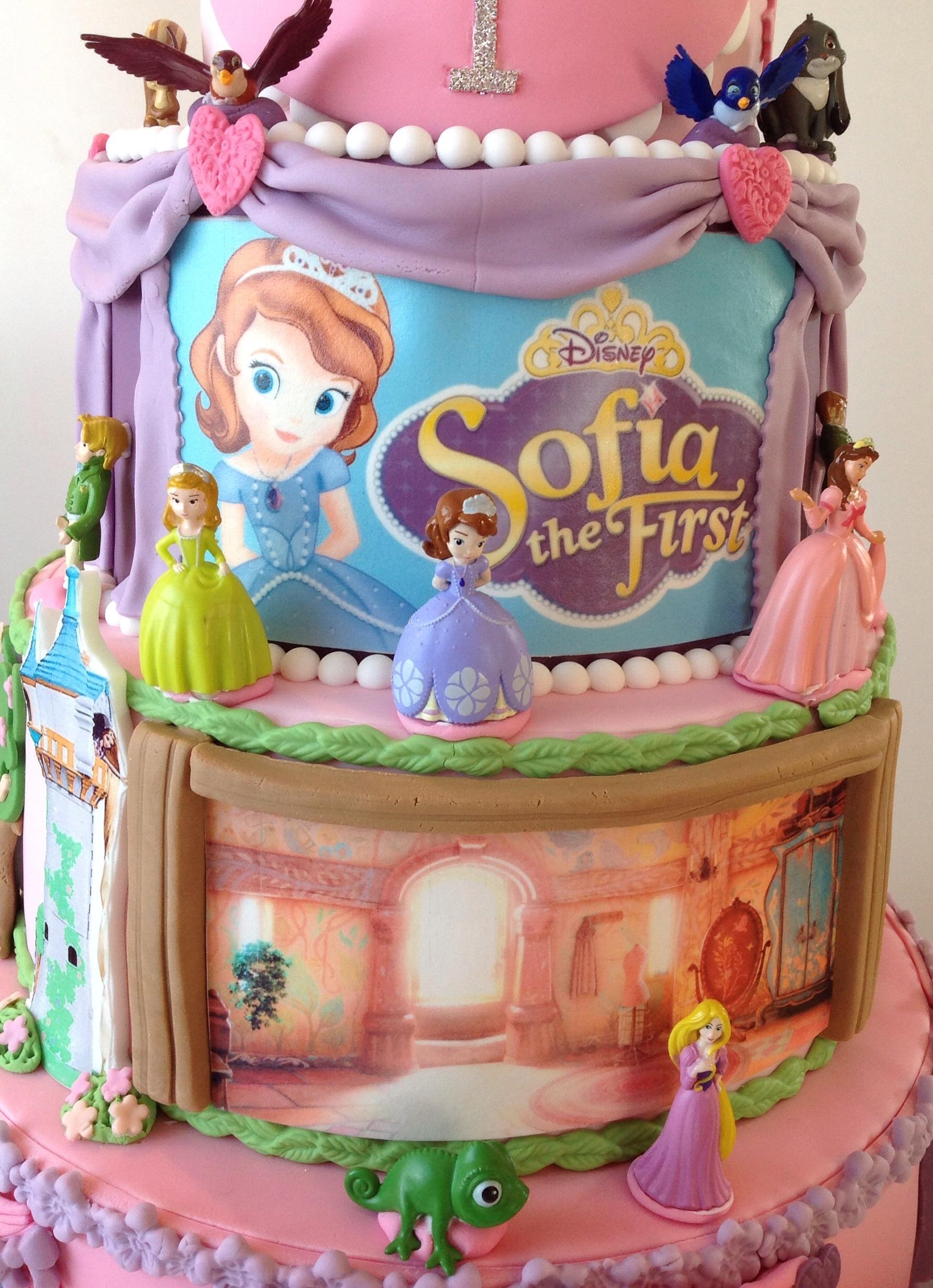 Birthday Cakes Of Disney Princess