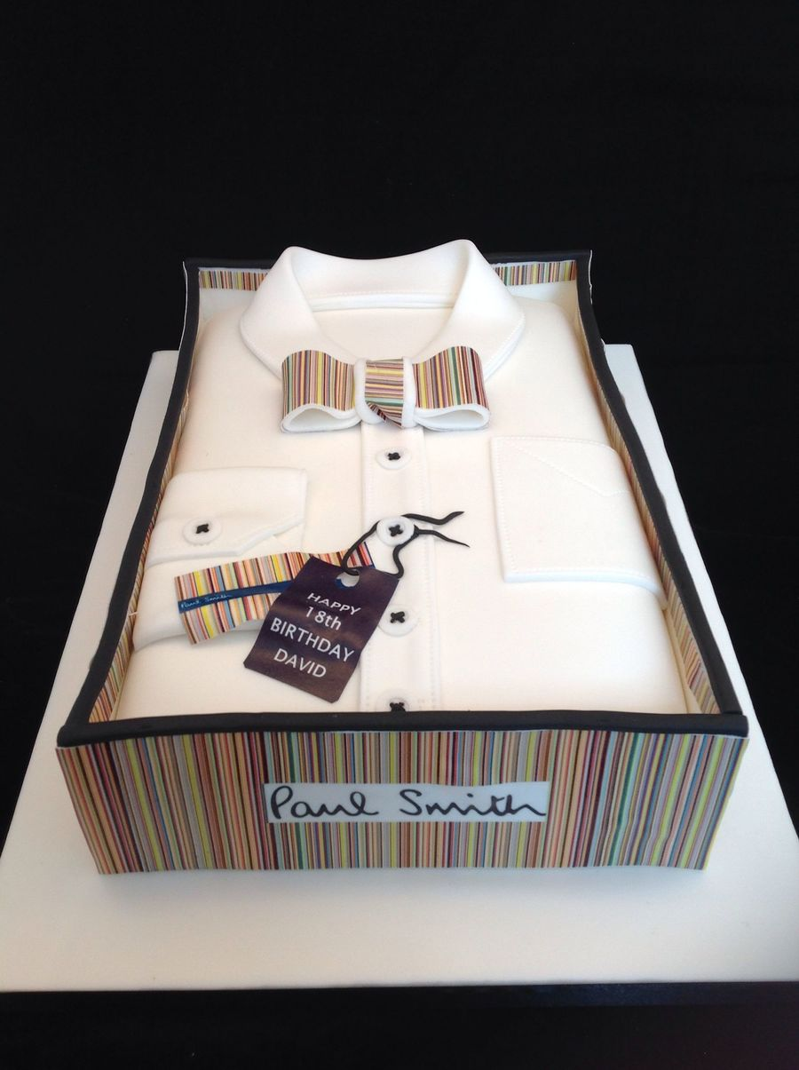 Shirt design cake - Birthday Cakes