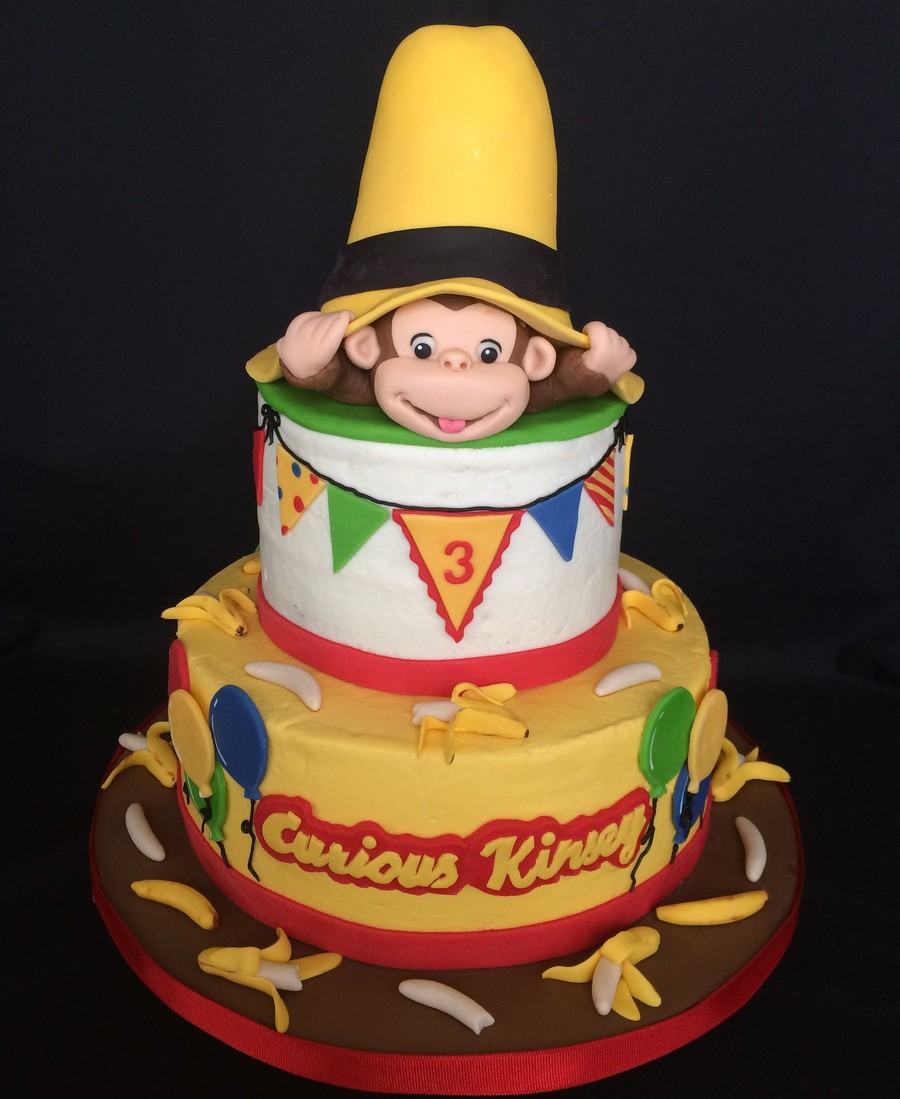 Curious george for Curious george cake template