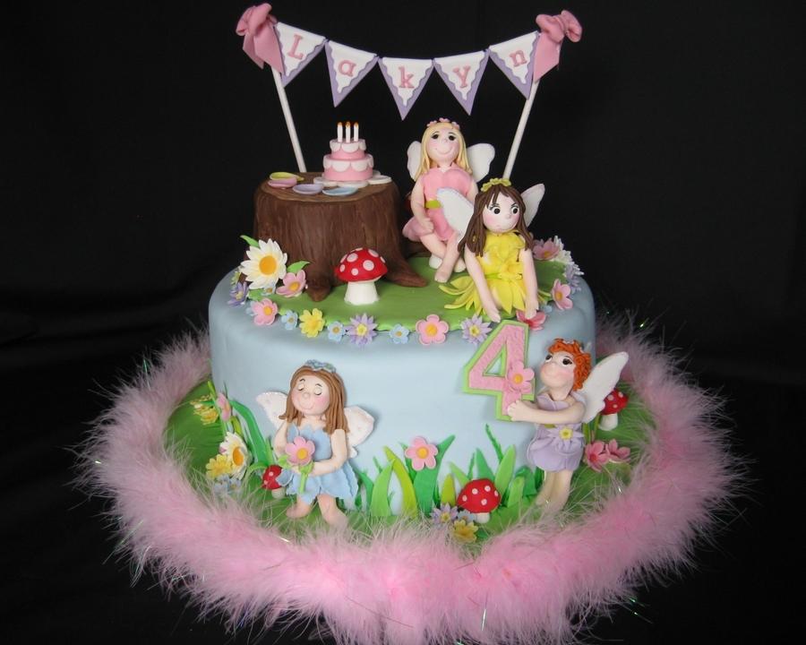 Garden Fairy Birthday Party Cakecentral Com