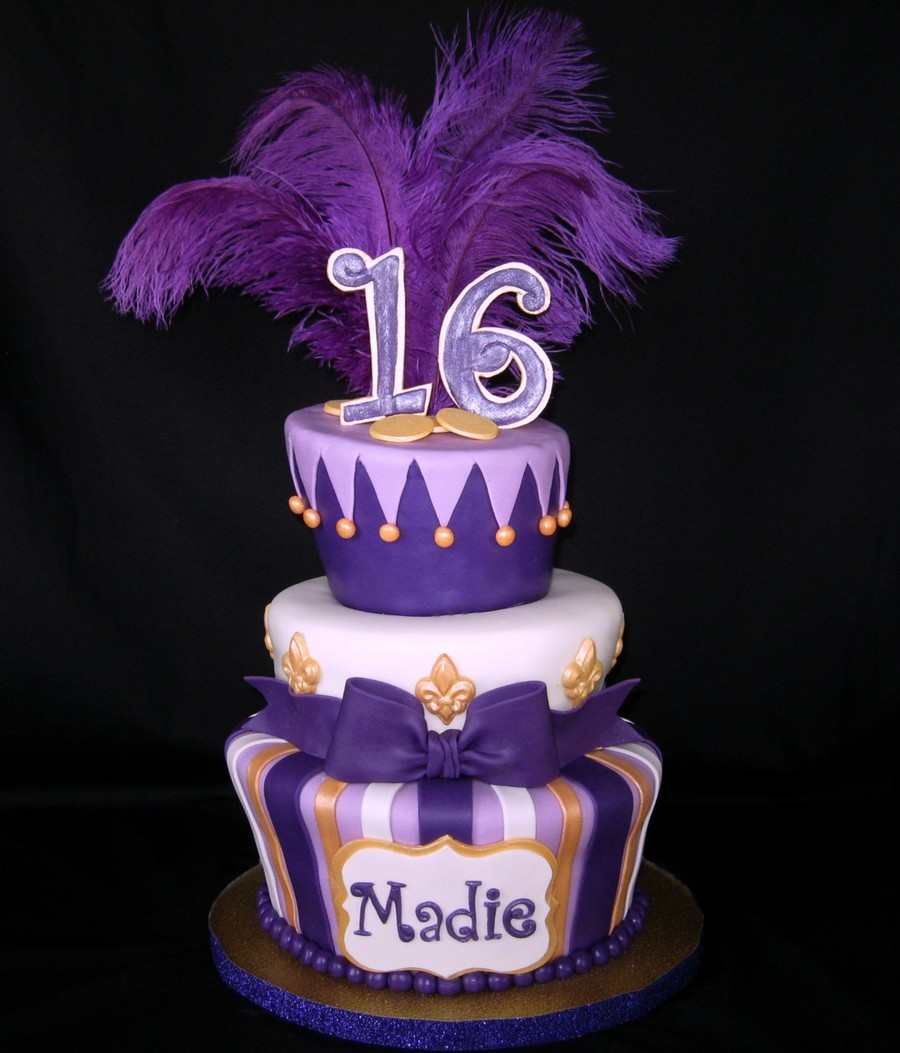 Sweet Sixteen Cake Ideas