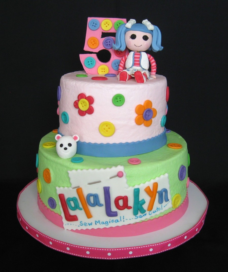 The Blue Haired Lalaloopsy Doll Is The Birthday Girls Favorite I Did