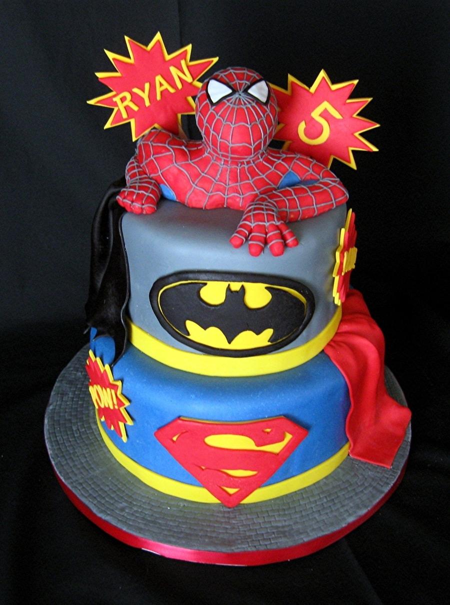 Super Hero Cake  |Superhero Cakes
