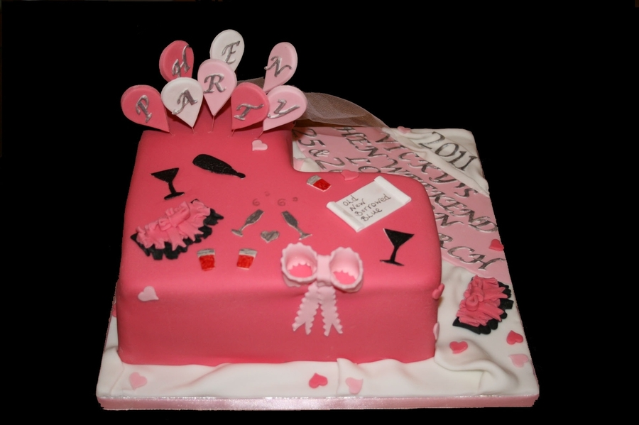 Hen Party Cake - CakeC... Naughty Cakes For Hen Party
