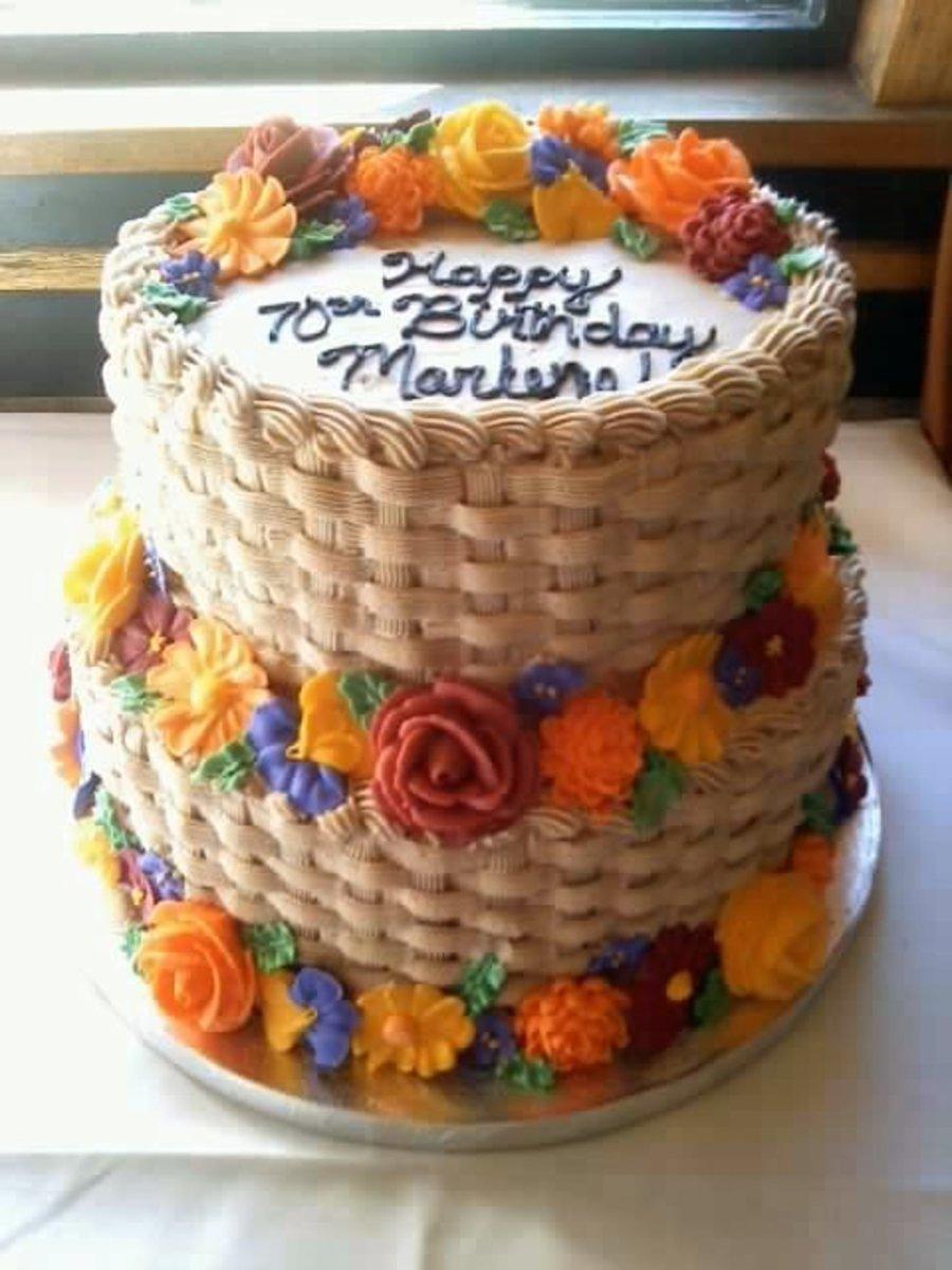 Flower Basket Cake Cakecentral