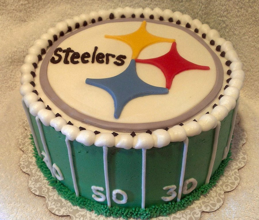 Pictures Of Steelers Birthday Cakes