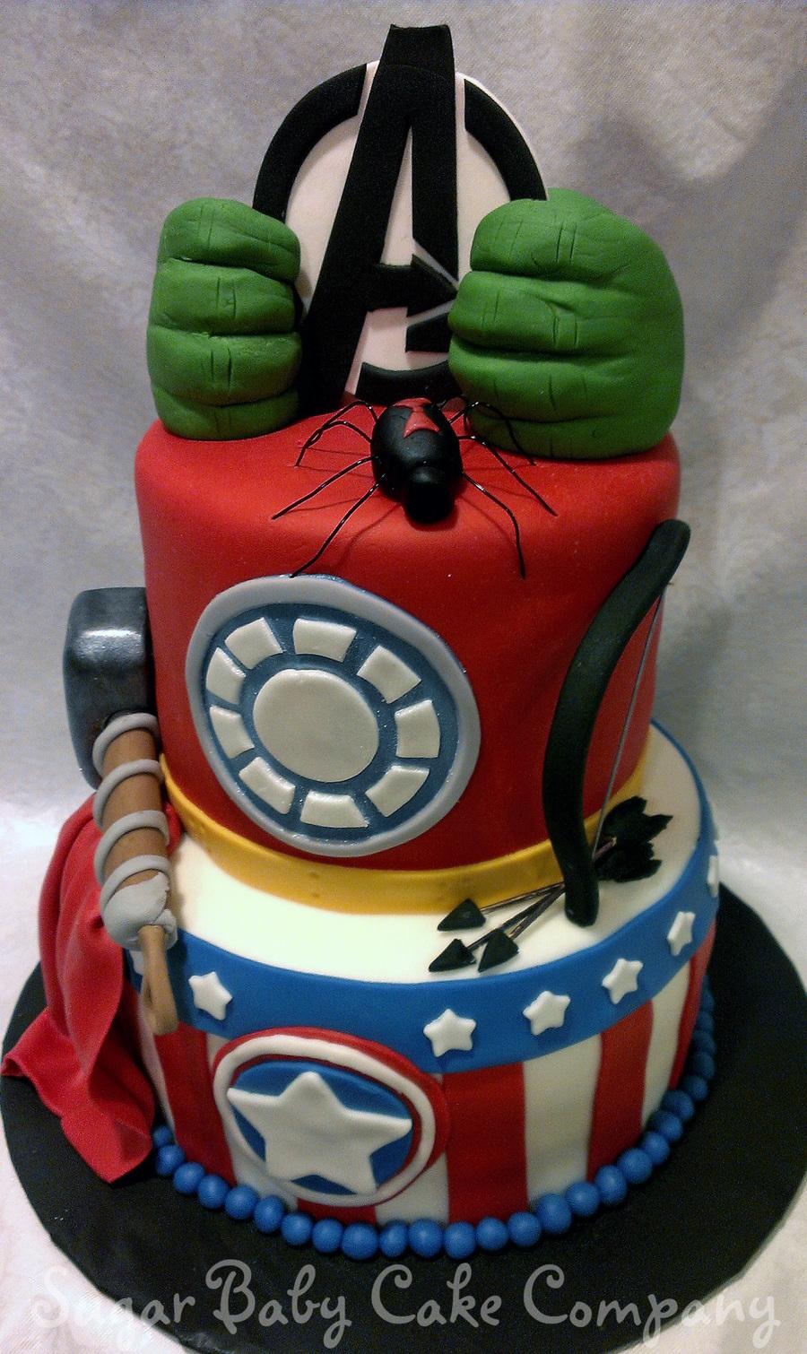 Avenger S Birthday Cake Cakecentral Com