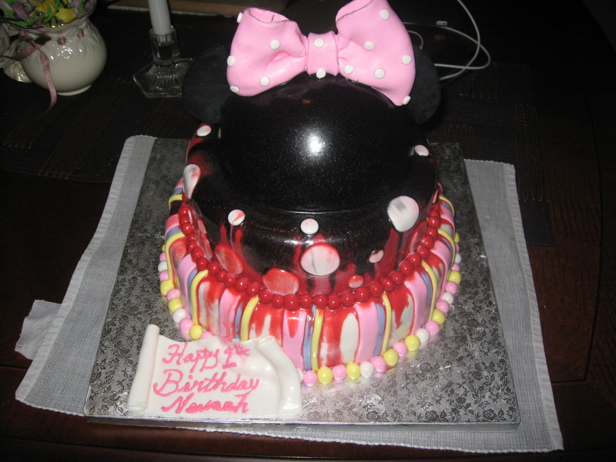 Minnie Mouse Disaster on Cake Central