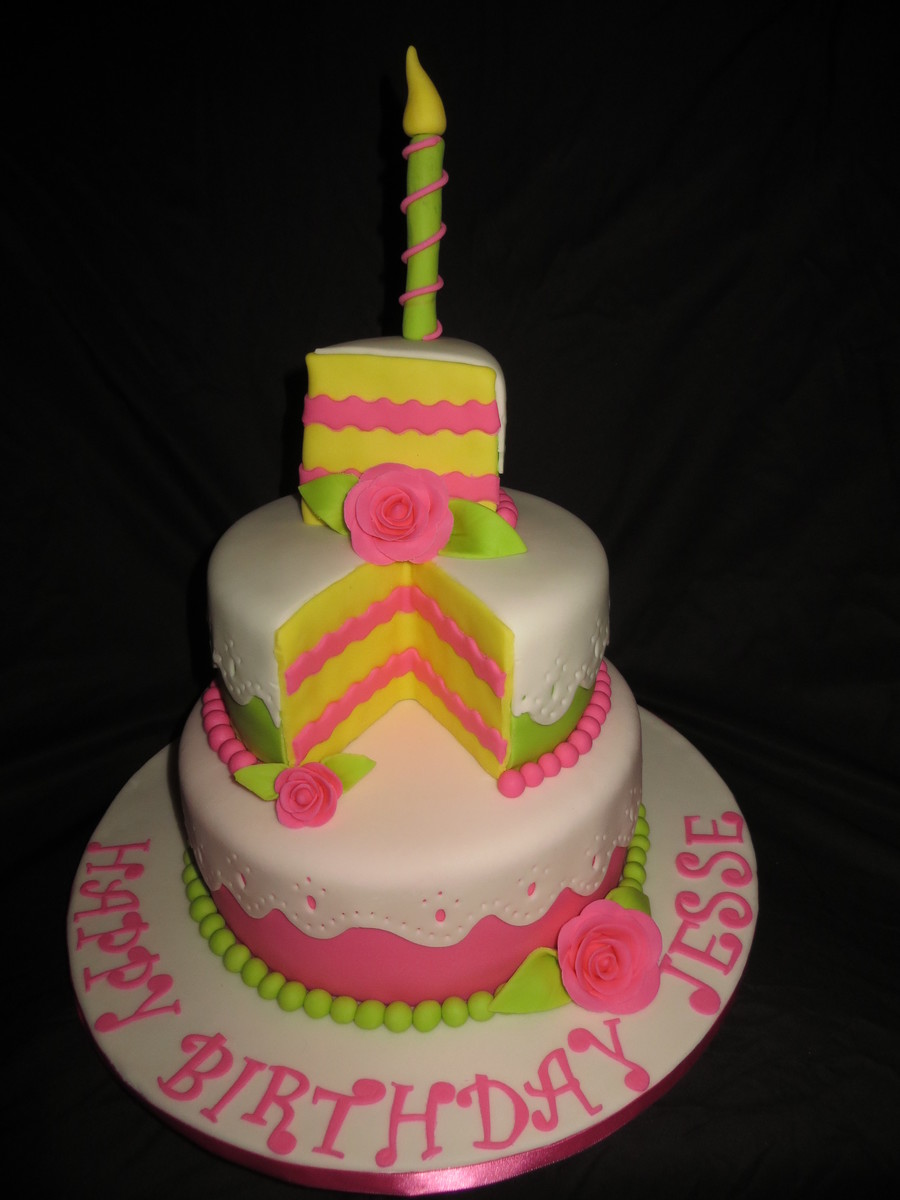 Whimsical Cake on Cake Central