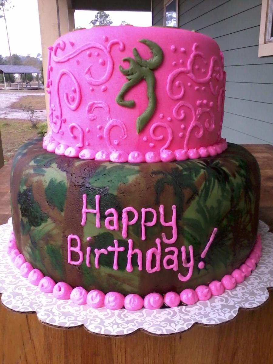 Camo Cake - CakeCentral.com