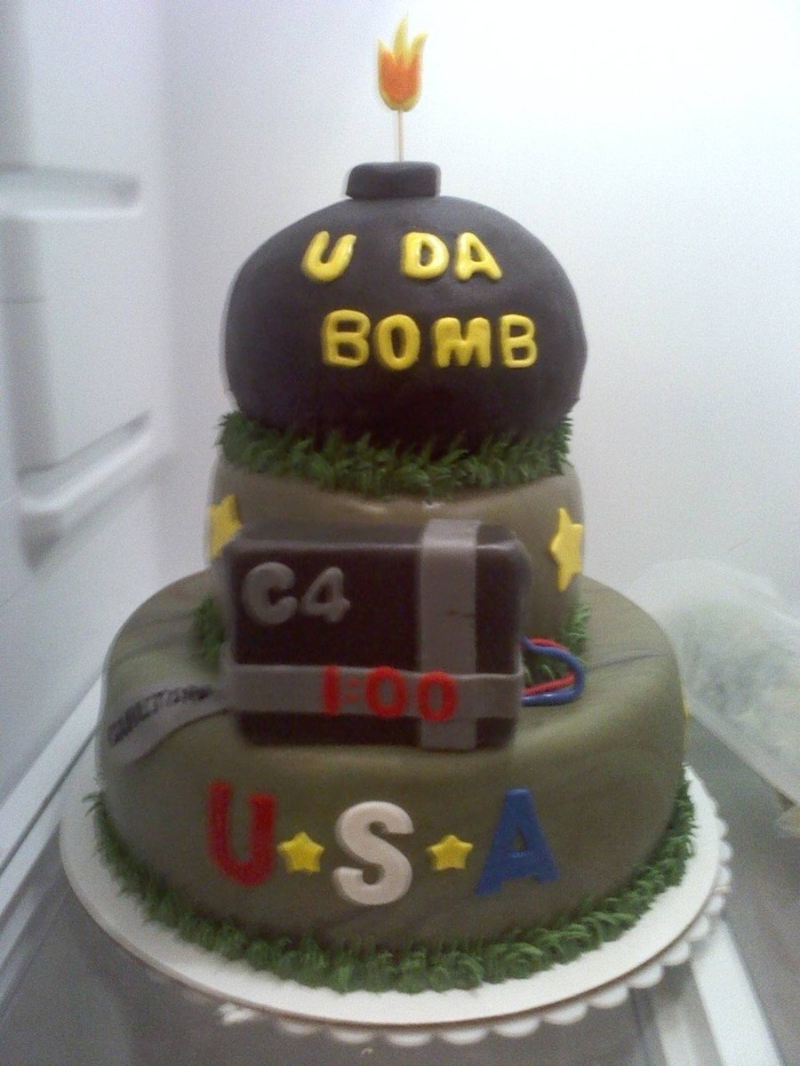 Army Cake on Cake Central